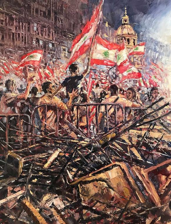 Lebanon Uprising 2019